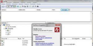FileZilla Ekran Görüntüsü