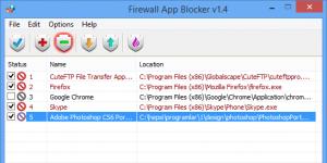 Firewall App Blocker Ekran Görüntüsü