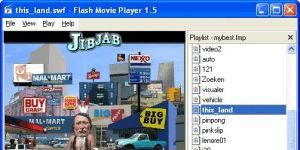 Flash Movie Player Ekran Görüntüsü
