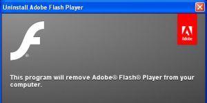 Adobe Flash Player Uninstaller Ekran Görüntüsü