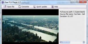 FLV Player Ekran Görüntüsü