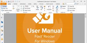 Foxit Reader Türkçe Dil Dosyası Ekran Görüntüsü