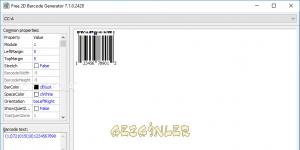 Free 2D Barcode Generator Ekran Görüntüsü