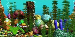 Free 3D Aquarium Screensaver Ekran G�r�nt�s�
