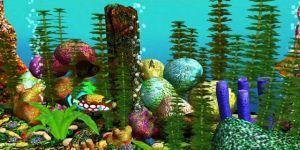 Free 3D Aquarium Screensaver Ekran Görüntüsü