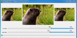 Free 3D Video Maker Ekran Görüntüsü