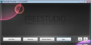 Free Audio Converter Ekran Görüntüsü