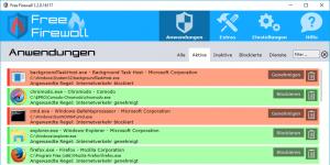 Free Firewall Ekran Görüntüsü
