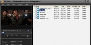 Free HD Video Converter Factory Ekran Görüntüsü