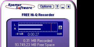 FREE Hi-Q Recorder Ekran Görüntüsü