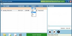 Free M4V Converter Ekran Görüntüsü