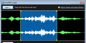 Free MP3 Cutter Ekran Görüntüsü