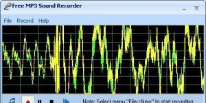 Free MP3 Sound Recorder Ekran G�r�nt�s�