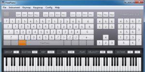 Free Piano Ekran G�r�nt�s�
