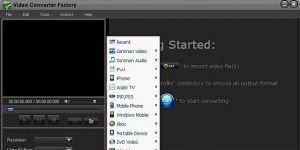 Free Video Converter Factory Ekran Görüntüsü