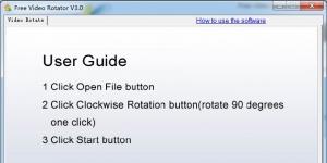 Free Video Rotator Ekran Görüntüsü