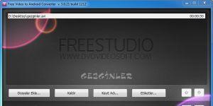 Free Video to Android Converter Ekran Görüntüsü