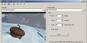 Free Video to JPG Converter Ekran G�r�nt�s�