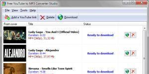 Free YouTube to MP3 Converter Studio Ekran Görüntüsü