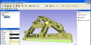 FreeCAD Ekran Görüntüsü