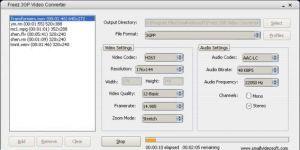 Freez 3GP Video Converter Ekran Görüntüsü