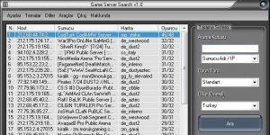 GameTracker Lite Ekran G�r�nt�s�