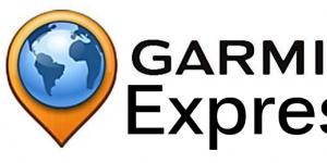 Garmin Express Ekran Görüntüsü