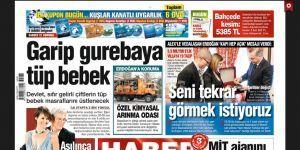 Gazete Habertürk Ekran Görüntüsü