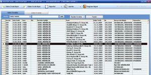 Gelen - Giden Evrak Kayıt Takip Profesyonel Ekran Görüntüsü