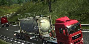 German Truck Simulator Ekran Görüntüsü