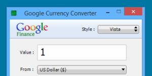 Google Currency Converter Ekran Görüntüsü