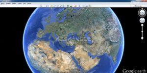Google Earth Ekran Görüntüsü