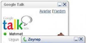 Google Talk Ekran G�r�nt�s�