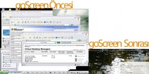 goScreen Free Edition Ekran Görüntüsü