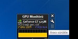 GPU Monitor Ekran Görüntüsü