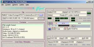 Gspot Codec Information Appliance Ekran Görüntüsü