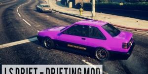 GTA 5 Drift Modu Ekran Görüntüsü
