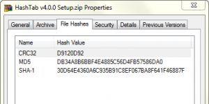 HashTab Ekran Görüntüsü