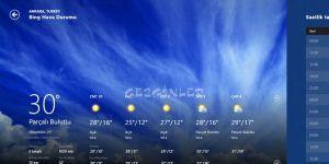 Hava Durumu Ekran Görüntüsü