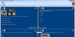 Haz�rTest Soru Bankas�, Test Haz�rlama ve Optik Okuma Program� Ekran G�r�nt�s�