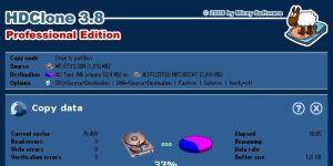 HDClone Free Edition Ekran Görüntüsü