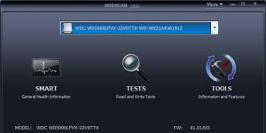 HDDScan Ekran Görüntüsü