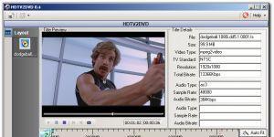 HDTV2DVD Ekran Görüntüsü
