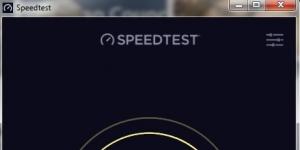 Hız Testi Ekran Görüntüsü