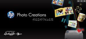 HP Photo Creations  Ekran Görüntüsü
