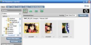 HP Photosmart Essential Ekran Görüntüsü