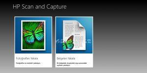 HP Scan and Capture Ekran Görüntüsü