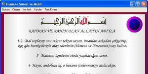 Hûmeze Suresi Ekran Görüntüsü
