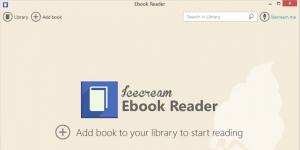 Icecream Ebook Reader Ekran Görüntüsü