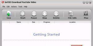 ImTOO Download YouTube Video Ekran Görüntüsü